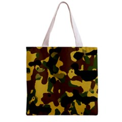 Camo Pattern  Grocery Tote Bag by Colorfulart23