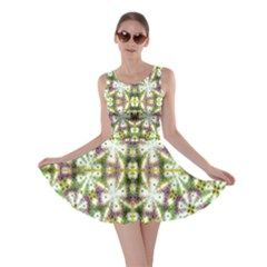 Neo Noveau Style Floral Print Skater Dress by dflcprintsclothing