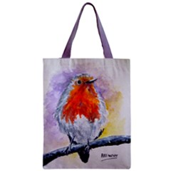 Robin Redbreast Classic Tote Bag 17 5  By 13 5