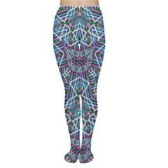 Colorful Geometric Print Tights by dflcprintsclothing