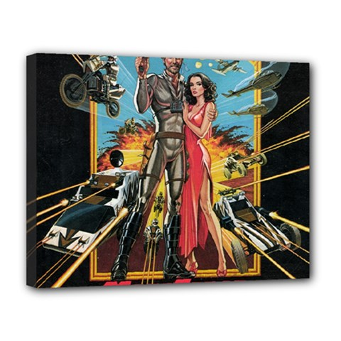 Megaforce F412359c Canvas 14  X 11  (framed)