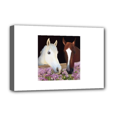 Friends Forever Deluxe Canvas 18  X 12  (framed) by JulianneOsoske