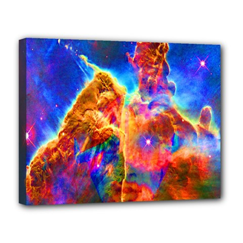 Cosmic Mind Canvas 14  X 11  (framed) by icarusismartdesigns