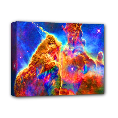 Cosmic Mind Deluxe Canvas 14  X 11  (framed) by icarusismartdesigns