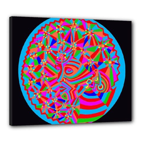 Magical Trance Canvas 24  X 20  (framed) by icarusismartdesigns
