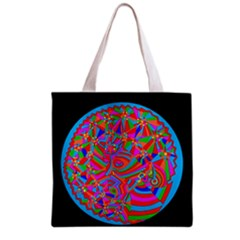 Magical Trance Grocery Tote Bag by icarusismartdesigns