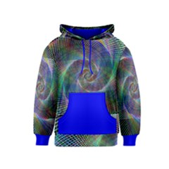 Psychedelic Spiral Kid s Pullover Hoodie by StuffOrSomething