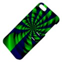 Green blue spiral Apple iPhone 5 Hardshell Case with Stand View4
