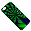 Green blue spiral Apple iPhone 5 Hardshell Case with Stand View5