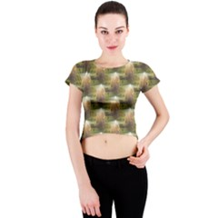 Sophia Crew Neck Crop Top