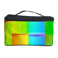 Colorful Gradient Shapes Cosmetic Storage Case