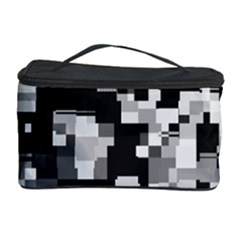 Background Noise In Black & White Cosmetic Storage Case