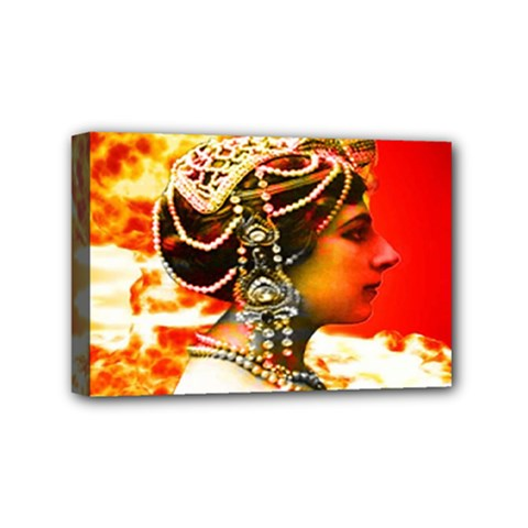 Mata Hari Mini Canvas 6  X 4  (stretched) by icarusismartdesigns