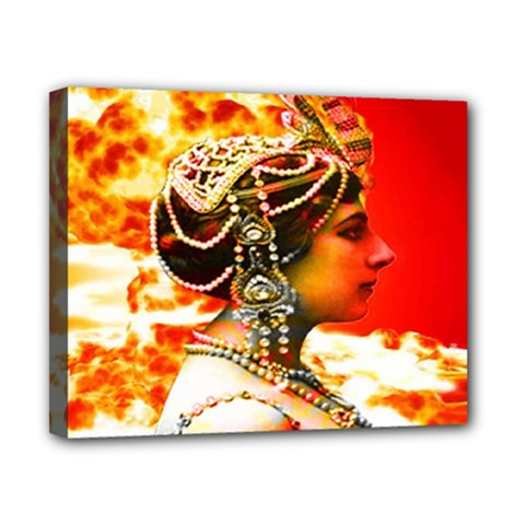 Mata Hari Canvas 10  X 8  (stretched) by icarusismartdesigns