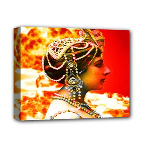 Mata Hari Deluxe Canvas 14  X 11  (stretched) by icarusismartdesigns