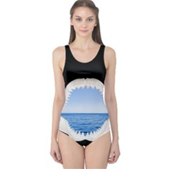 Big Sharky Women s One Piece Swimsuit by Groovy