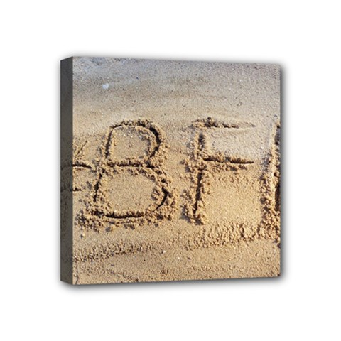 #bff Mini Canvas 4  X 4  (framed) by yoursparklingshop