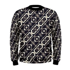 Retro Decorative Pattern Men s Sweatshirt by dflcprintsclothing