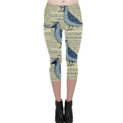 Bird Capri Leggings  by boho
