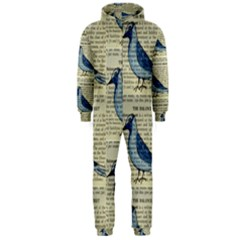 Bird Hooded Onepiece Jumpsuit (men) by boho