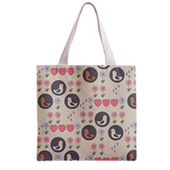 Love Birds Grocery Tote Bag