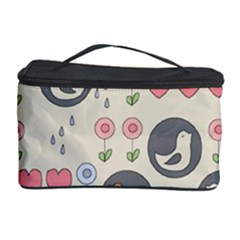 Love Birds Cosmetic Storage Case by Kathrinlegg