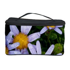 Yellow White Daisy Flowers Cosmetic Storage Case
