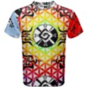 Shamanatrix Galactic Flower, Mens T Shirt View1