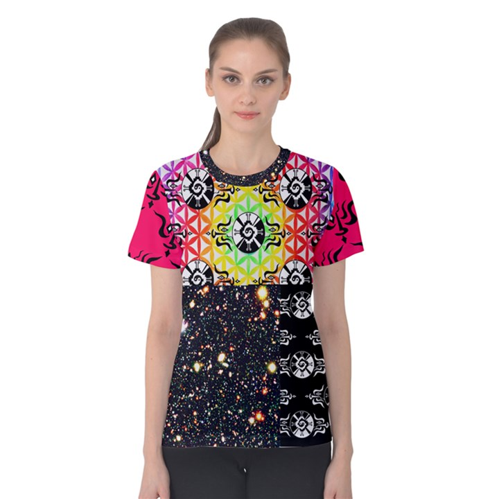 Shamanatrix Galactic Gardenia *Women s cotton t.shirt