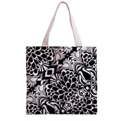 70 s Wallpaper Grocery Tote Bag by KirstenStar