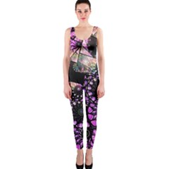 Hippy Fractal Spiral Stacks Onepiece Catsuit by KirstenStar