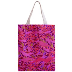 Bright Pink Confetti Storm Classic Tote Bag by KirstenStar