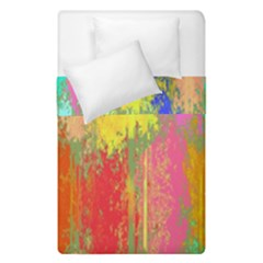 Colorful Paint Spots  Duvet Cover (single Size) by LalyLauraFLM