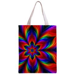 Rainbow Flower Classic Tote Bag by KirstenStar