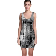 Urban Graffiti Bodycon Dress by ArtistRoseanneJones