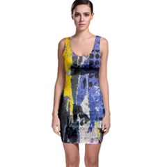 Urban Grunge Bodycon Dress by ArtistRoseanneJones