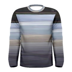 Painted Pompey Beach Men s Long Sleeve T Shirt by DeneWestUK