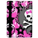 Pink Bow Skull Apple iPad Air Flip Case View4
