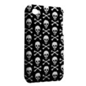 Skull and Crossbones Pattern Apple iPhone 3G/3GS Hardshell Case (PC+Silicone) View2