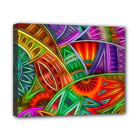 Happy Tribe Canvas 10  X 8  (framed) by KirstenStar