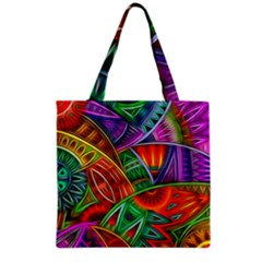 Happy Tribe Grocery Tote Bag by KirstenStar