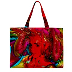 Mardi Gras Tiny Tote Bag by icarusismartdesigns