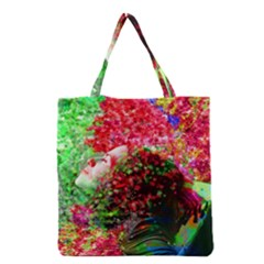 Summer Time Grocery Tote Bag by icarusismartdesigns