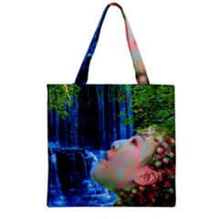 Fountain Of Youth Grocery Tote Bag by icarusismartdesigns