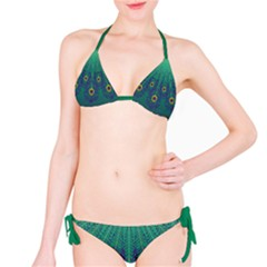 Peacock Emerald Bikini by olgart