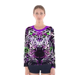 Officially Sexy Purple Panther Women s Long Sleeve T Shirt by OfficiallySexy