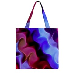 Rippling Satin Grocery Tote Bag by KirstenStar