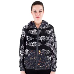 Shamanatrix Galactic Star*gate * Womens Hooded Jacket