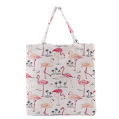 Flamingo Pattern Grocery Tote Bags
