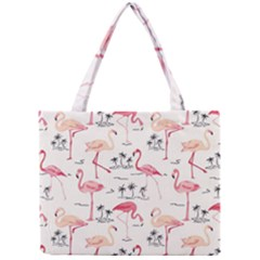 Flamingo Pattern Tiny Tote Bags by Contest580383